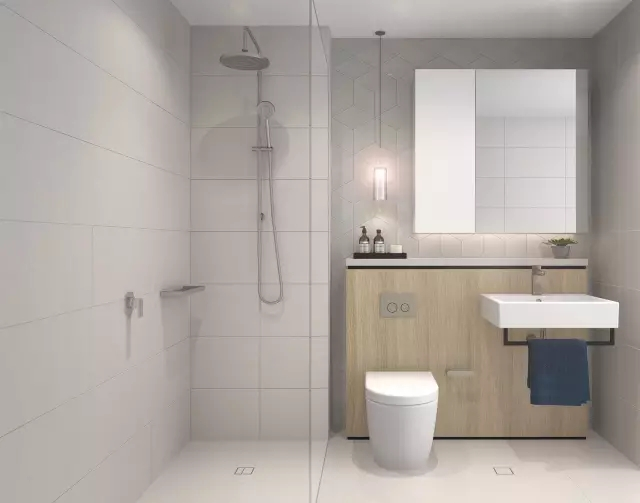 厨房的巧妙设计呈现出高超的空间利用方式,早餐吧台的设置让业主和