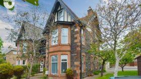 爱丁堡大学附近五居室半独栋别墅