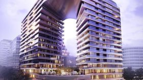 Infinity by Crown Group Project near University of New South Wales
