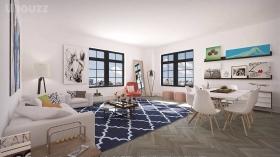 奢华精美的两居室公寓