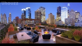 Manhattan Hell's kitchen brand-new Condo Development luxury one bedroom featuring so many amzing service !!