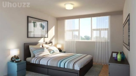 伦敦 重新涂漆的单卧室
