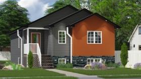 卡尔加里漂亮又宜人的三居室新别墅