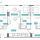 3 Bed 3 Bath - 3B - Floors 25-32