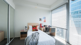 Studio/一房/两房公寓近墨尔本皇家理工大学City校区随时预订