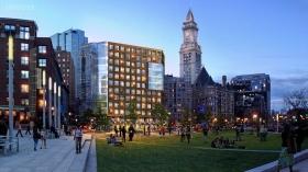 美国波士顿公寓 Boulevard on the Greenway
