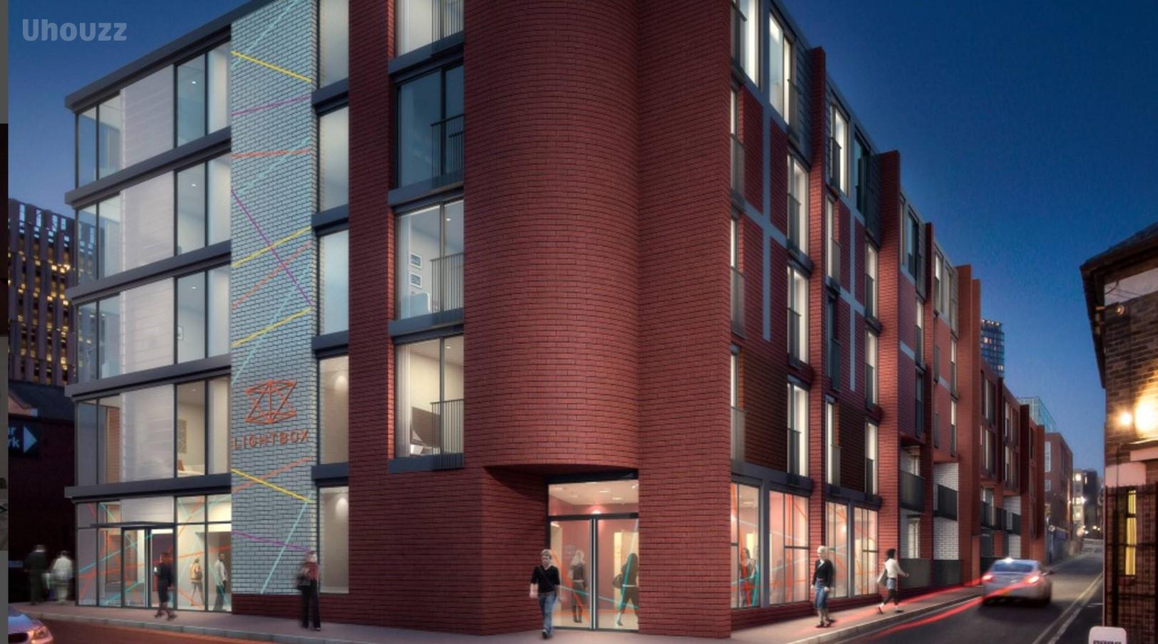 谢菲尔德市中心Light Box学生公寓