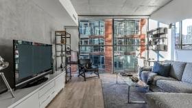 多伦多带家具一居室+den出租