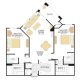2 Bed 2 Bath PLAN IX-346763