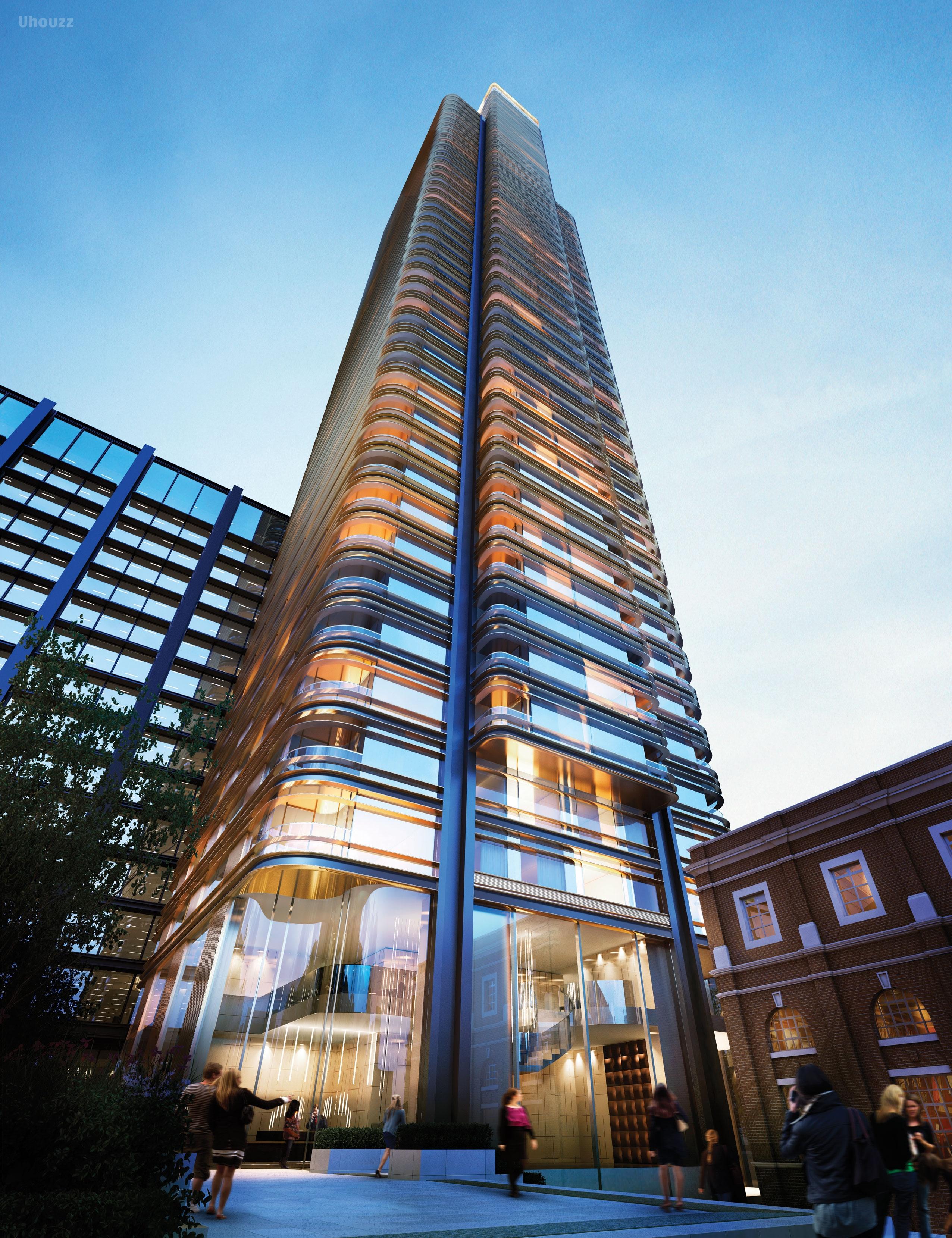 伦敦市中心 金融城 Principal Tower 豪华公寓