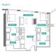 2 Bed 2 Bath - 2C - Floors 17-24