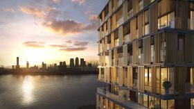 近伦敦金丝雀码头 Royal Wharf 公寓