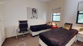 悉尼4室2.5卫别墅近USYD单间双人间