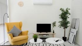猫本CBD网红楼一居室短租接受预定(三个月起租)