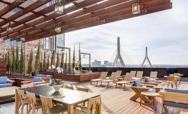 波士顿麻省理工大学附近Lovejoy Wharf河滨公寓