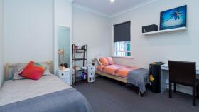 悉尼四室一卫公寓近UTS单间双人间
