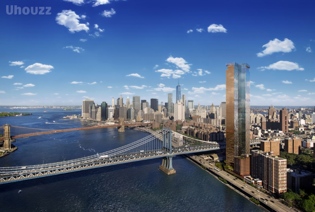 纽约One Manhattan Square曼哈顿一号广场