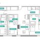 3 Bed 3 Bath - 3C - Floors 17-24