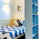 Twin Share Studio with two single beds