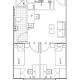 1 Bedroom in Two Bedroom-37692