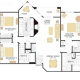 3 Bed 2 Bath PLAN XIII-346763
