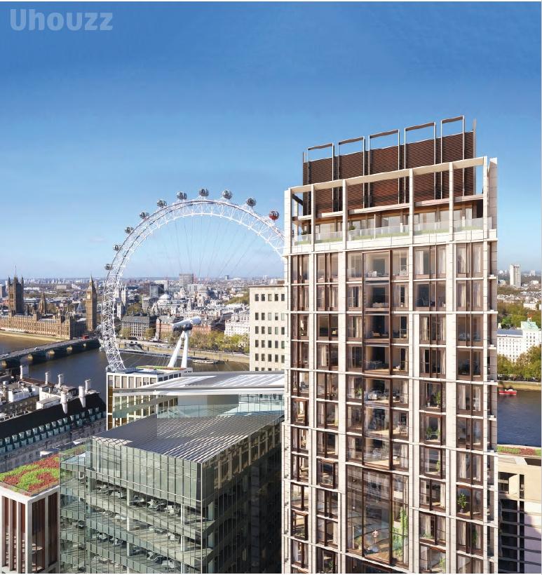 英国Southbank Place -8 Casson Square公寓