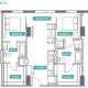 2 Bed 2 Bath - 2A - Floors 2-7
