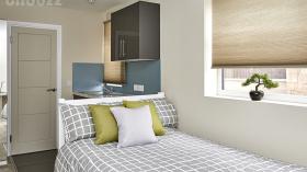 考文垂Warwick Row Studio Flat
