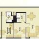 3 Bedroom 3 Bathroom - Shared Bedroom
