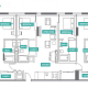 4 Bed 4 Bath - 4A - Floors 2-7