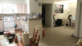 圣地亚哥三室两卫卧室出租
