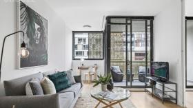 悉尼一室一卫一车位公寓近UNSW1月23日起入住