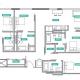 4 Bed 4 Bath - 4C - Floors 8-16