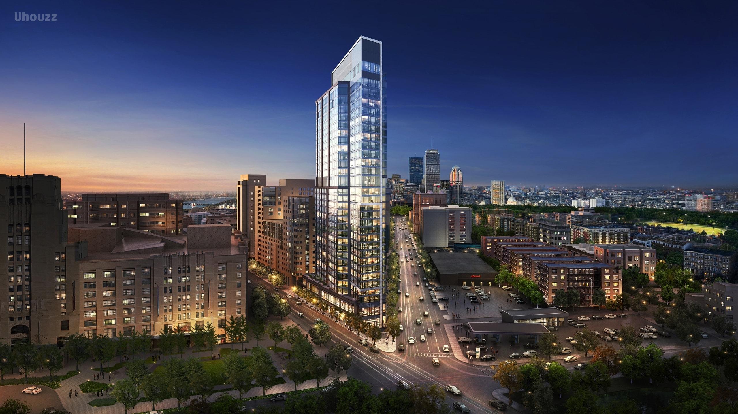 波士顿 地标建筑 Pierce 公寓