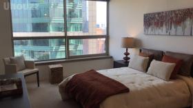 Presidential Towers公寓一室一卫出租大客厅