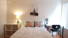 洛杉矶Texas街公寓独立卫浴卧室分租