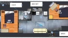 纽约哥大附近2B1B公寓次卧