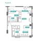 2 Bed 2 Bath - 2D - Floors 8-16