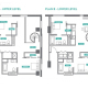 4 Bed 4 Bath - Duplex 4B - Floors 8-16