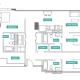 3 Bed 3 Bath - 3D - Floors 2-7