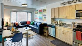 费城Chestnut Square转租一居室带家具限女性