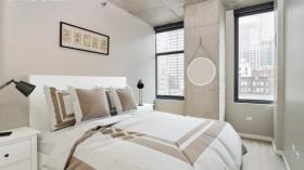 芝加哥Van Buren公寓两卧两浴整租