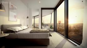墨尔本近Caulfield六星级标准酒店公寓两房两卫(接受短租)