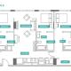 3 Bed 3 Bath - 3B - Floors 17-24