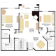 2 Bed 2 Bath PLAN VII