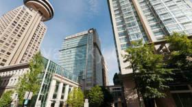 温哥华市中心舒适便利一房高层公寓