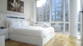 纽约曼岛哥伦布街高级两卧两浴
