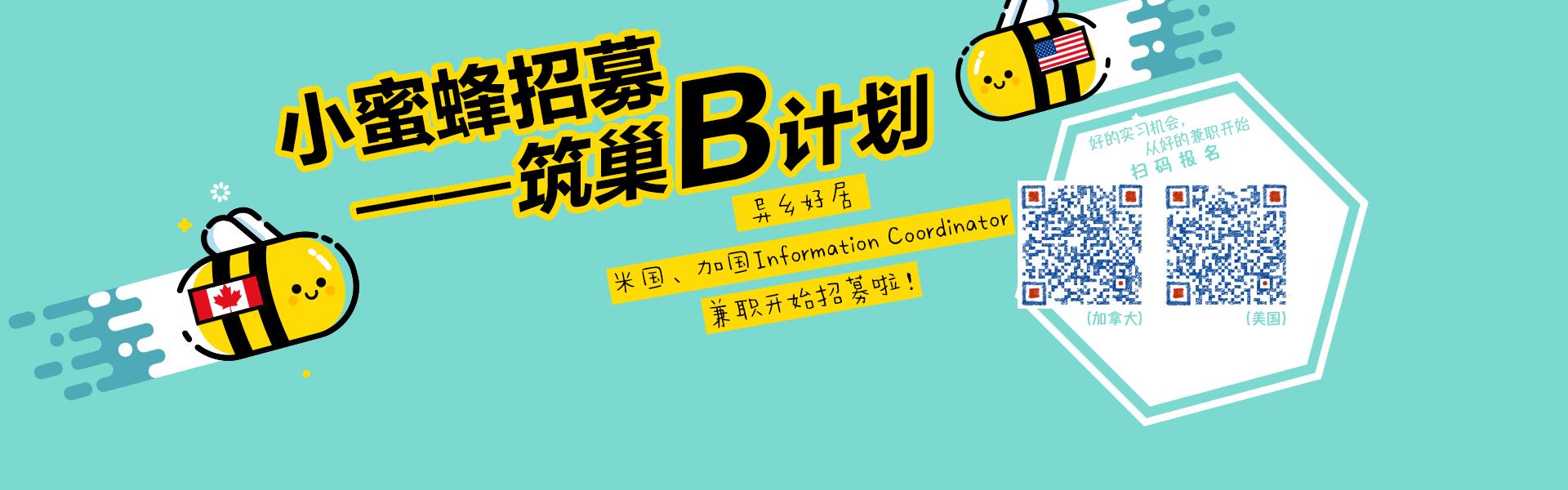 小蜜蜂招募——筑巢B计划!